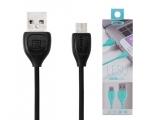 microUSB LAADIMISJUHE (REMAX USB kaabel, 1m, must)