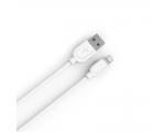IPHONE LAADIMISJUHE (USB kaabel, 1m, valge)