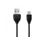 USB TYPE C1 LAADIMISJUHE (REMAX USB TYPE-C kaabel, 1m, must)